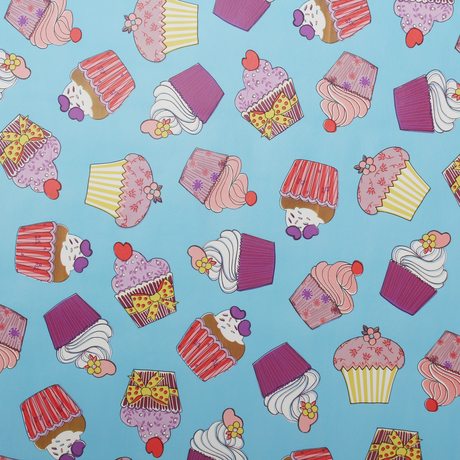 Kitchen Fabric: Large Cupcake Oilcloth Vinyl Fabric Kitchen Table