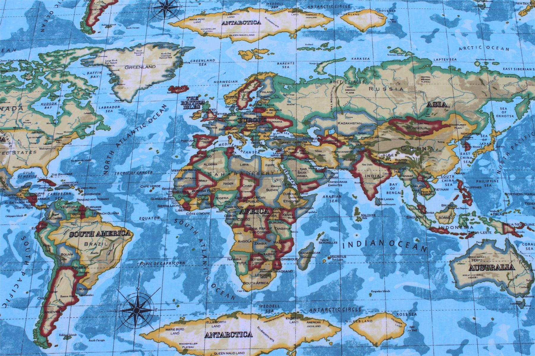 Designer pvc world atlas map vinyl wipe clean oilcloth prestigious designer pvc world atlas map vinyl wipe clean oilcloth prestigious tablecloth gumiabroncs Gallery