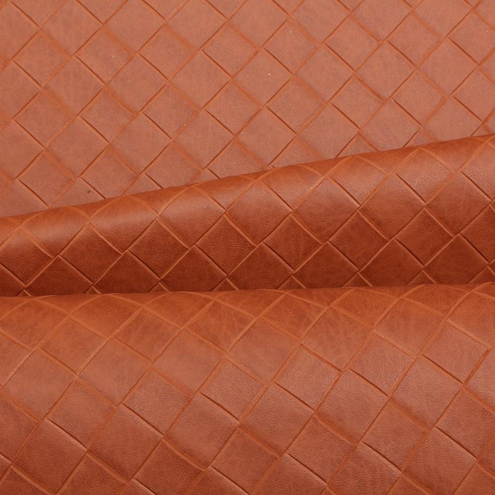 Basket weave faux leather upholstery fabric for Fake leather upholstery