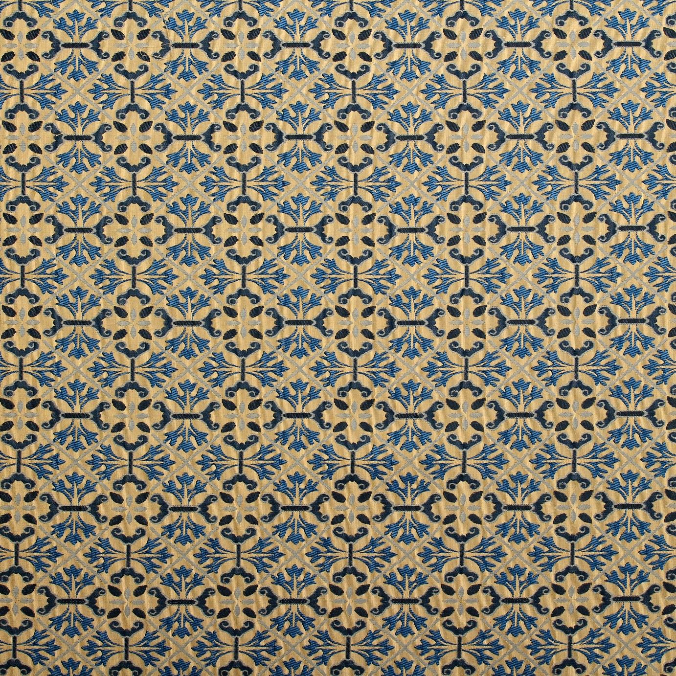 Georgian Pattern Traditional Tapestry Vintage Fabric I
