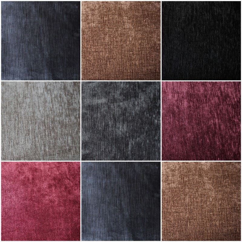Luxury Soft Plain Heavy Weight Cotton Crushed Pure Velvet