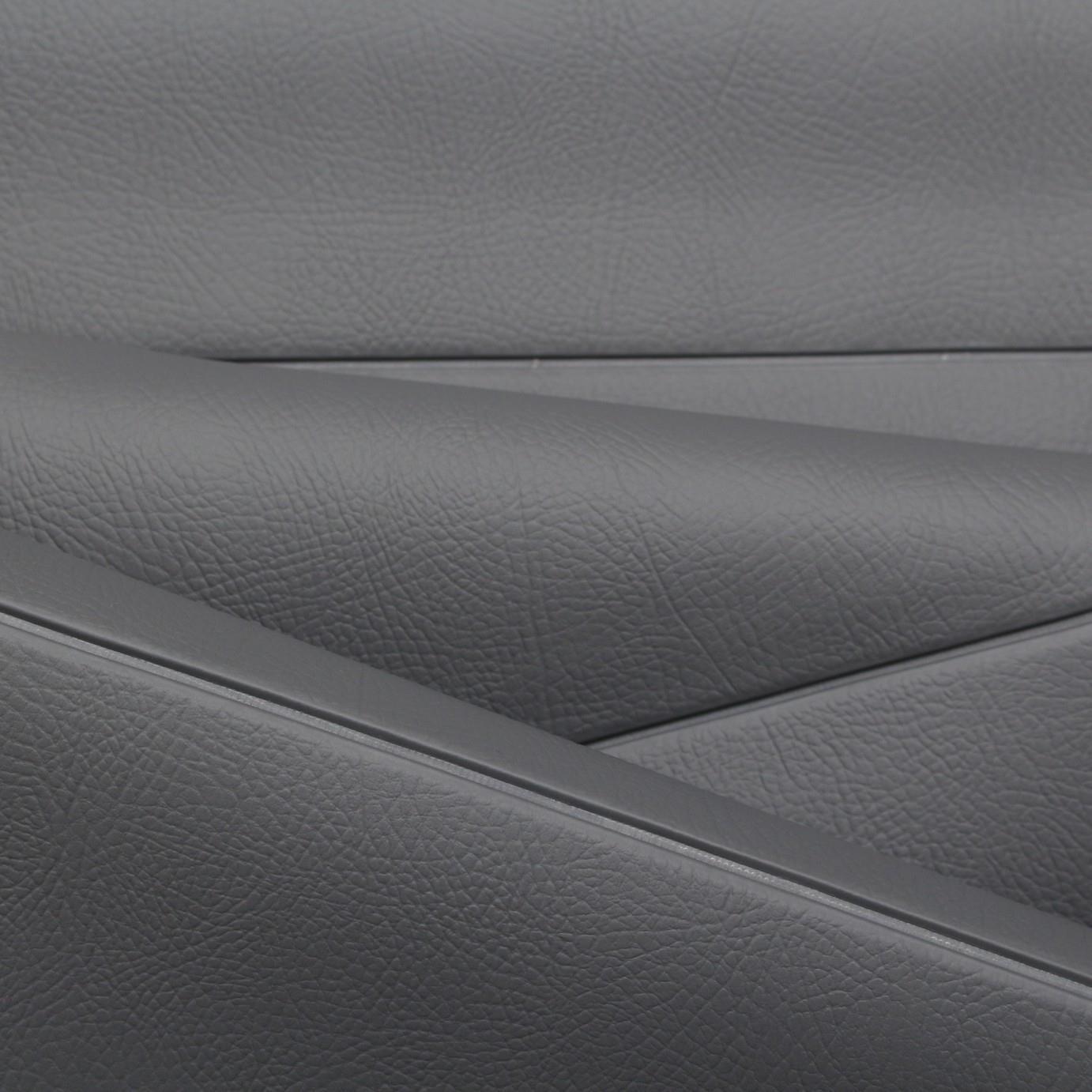 Fluted Vinyl Car Boat Pleated Upholstery Leather