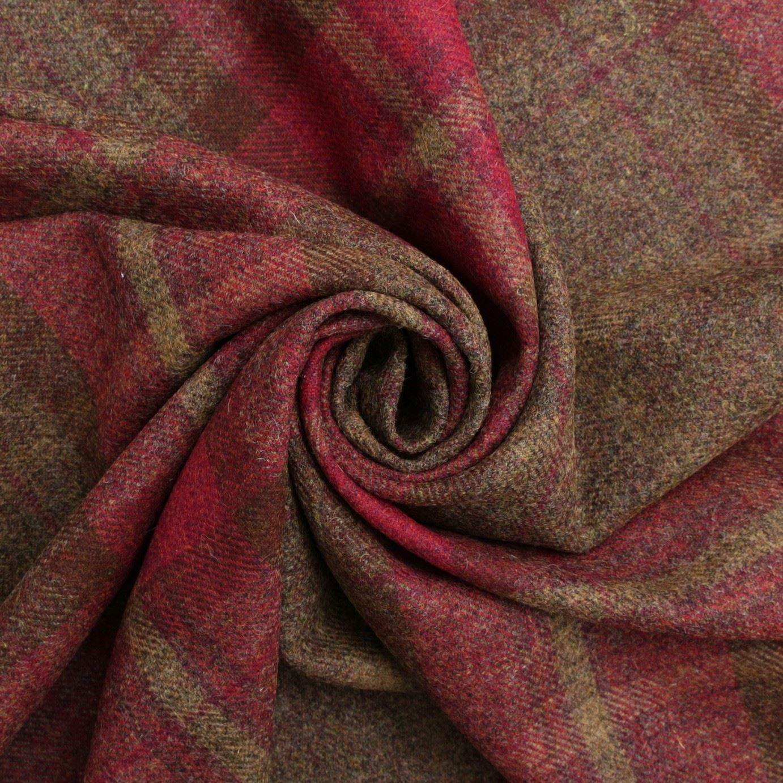 100 British Shetland Wool Traditional Twill Tartan