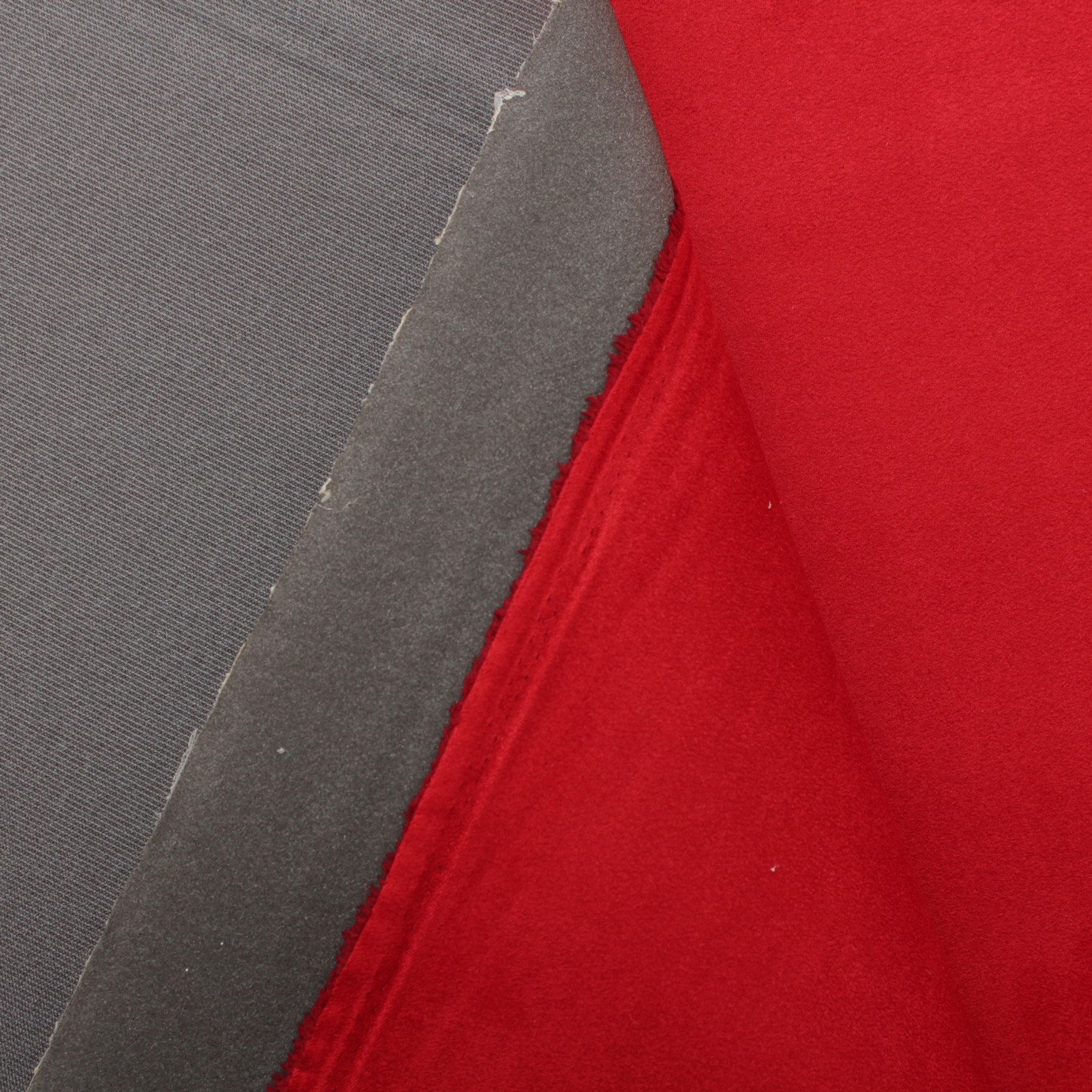 Upholstery Fabric Red Foam backed