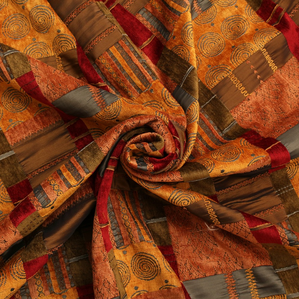 Moroccan Patchwork Tapestry I Want Fabric