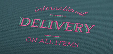 International Delivery On All Items
