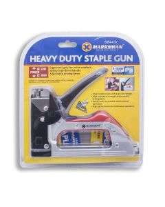 Heavy Duty Staple Gun Steel Construction High Performance
