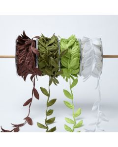 "Jumbo Leaves 1.5"" Ribbon"