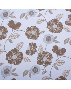 Cavendish Spring Floral Upholstery Fabric - Cornflower
