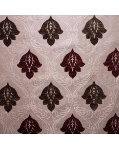 Sigfried Double Faced Jacquard Chenille Fleur de Lis Upholstery Fabric