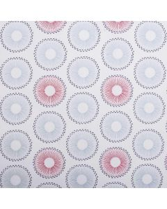 Spinelli 100% Cotton Floral Metro Curtain Fabric - Pimento