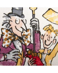 Roald Dahl 'Fantabulous Fabrics' Cotton Fabric