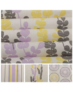 Purple and Yellow 100% Cotton Prints