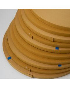Cardboard Backtacking Strip Upholstery 12.7mm Wide - 137m Roll