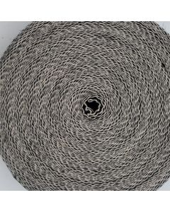 "Black and White Herringbone Strong Upholstery Webbing 2"" - 32m Roll"