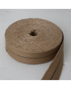 "Jute Burlap Strong Upholstery Webbing 2"" - 32m Roll"