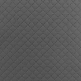 Quilted Faux Leather Fabric -  Single Diamond Small