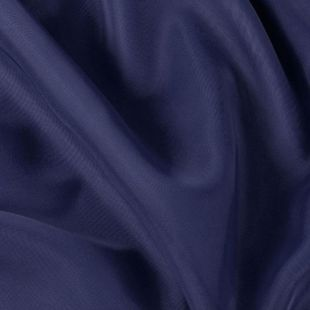 Navy Blue Voile Organza Fabric