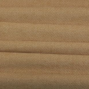 Basketweave Chenille Upholstery Fabric - Fawn
