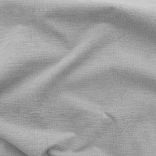 Athletico Soft Plain Chenille Upholstery Fabric - Silver