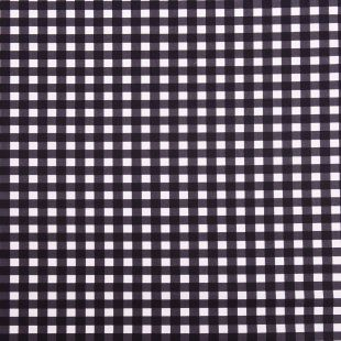 8m - Prestigious Textiles Gingham Black Checked Upholstery Fabric