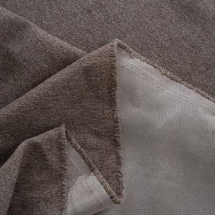 Maeve Plain Wool Look Melange Upholstery Fabric
