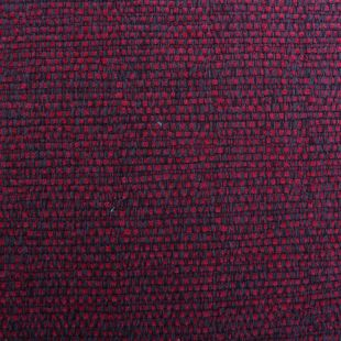 Distressed Look Basket Weave Chenille Shabby Upholstery Fabric
