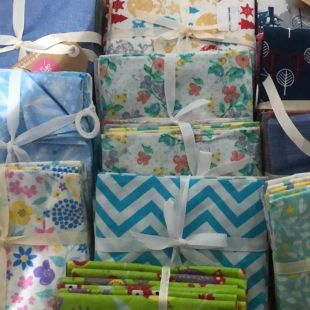 4 x Clearance Fat Quarters Lucky Dip