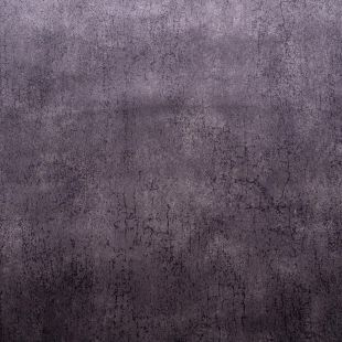 Granite Crushed Velvet Upholstery Fabric - Steel