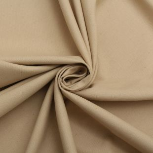 Cotton Panama Craft and Quilting Fabric Plain Beige