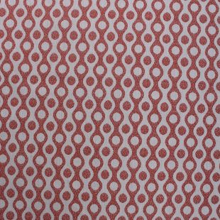 Palace Wave Woven Upholstery Fabric - Spice