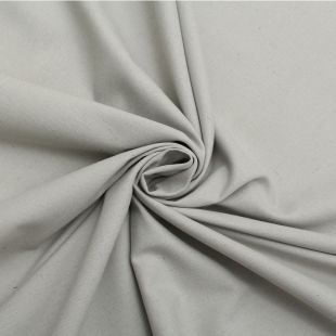 Cotton Panama Craft and Quilting Fabric Plain Grey