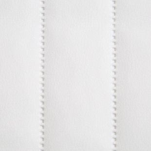 Quilted Faux Leather Fabric -  Vertical Fluted Stripe