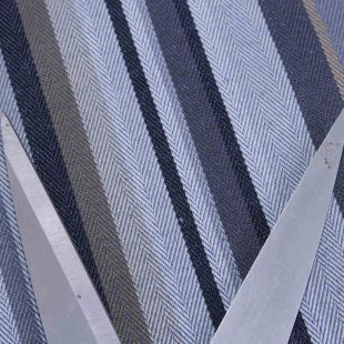 Palermo Woven Stripe Upholstery Fabric - Beige