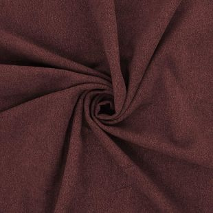 Chocolate Boucle Faux Wool Upholstery Fabric