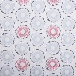 Spinelli 100% Cotton Floral Metro Curtain Fabric