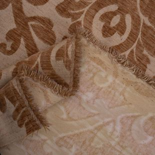 Elise Large Floral Damask Raised Chenille Upholstery Fabric