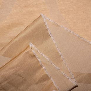 Roberta Georgian Satin Jacquard Fabric - Gold
