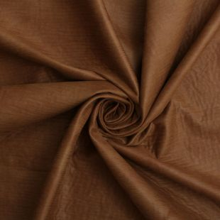Designer Rippled Faux Suede Fabric - Butterscotch