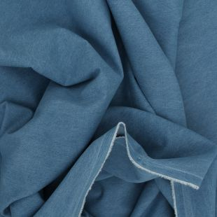 100% Cotton Denim Dressmaking Fabric - Washed 8oz Light