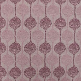 Orpheus Hour Glass Floral Upholstery Fabric - Fuchsia
