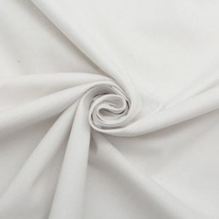 Cotton Panama Craft and Quilting Fabric Plain White