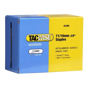 Tac Wise 71 Series Galvanised Upholstery Staples (Box of 20,000)