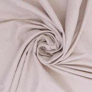 Bella Boucle Textured Chenille Cream Upholstery Fabric