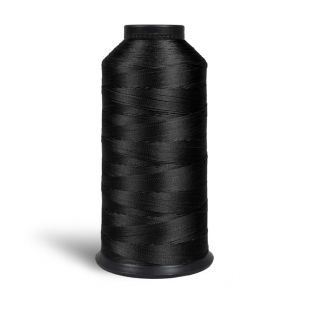 Bonded Nylon 60s Sewing Thread 1000m - Black