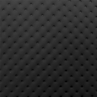 Quilted Faux Leather Fabric -  Debossed Dots