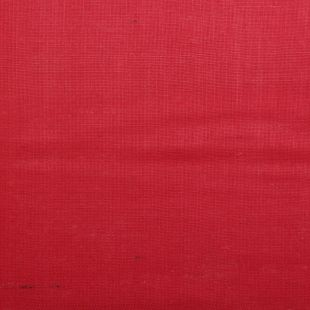 Natural Dyed Hessian Jute Burlap Cloth - Red