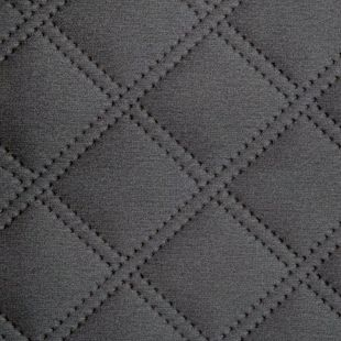 Double Stitch Diamond Quilted Velvet