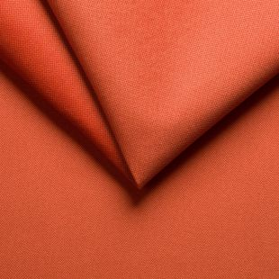 Alaska Velour Plain Velvet Upholstery Fabric - Orange