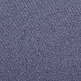 Orkney Twill Weave Faux Wool Fabric Upholstery Fabric - Mid Blue